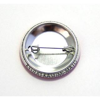 缶バッジ32mm 弓道霞的デザインPINK|ohmi-rakuichi|02