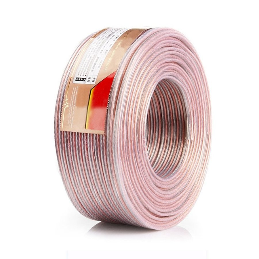 スピーカーケーブル スピーカーコード オーディオケーブル 高純度OFC 錫メッキ 高品質(20m, 1.28mm?)|ohmybox