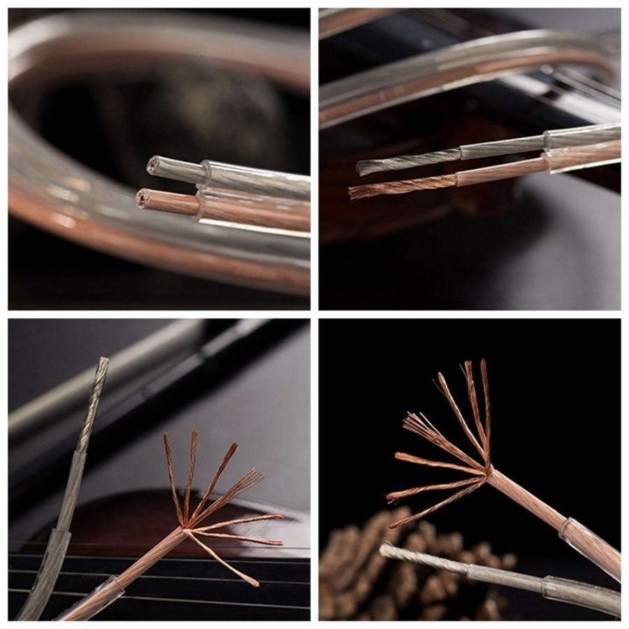 スピーカーケーブル スピーカーコード オーディオケーブル 高純度OFC 錫メッキ 高品質(20m, 1.28mm?)|ohmybox|05