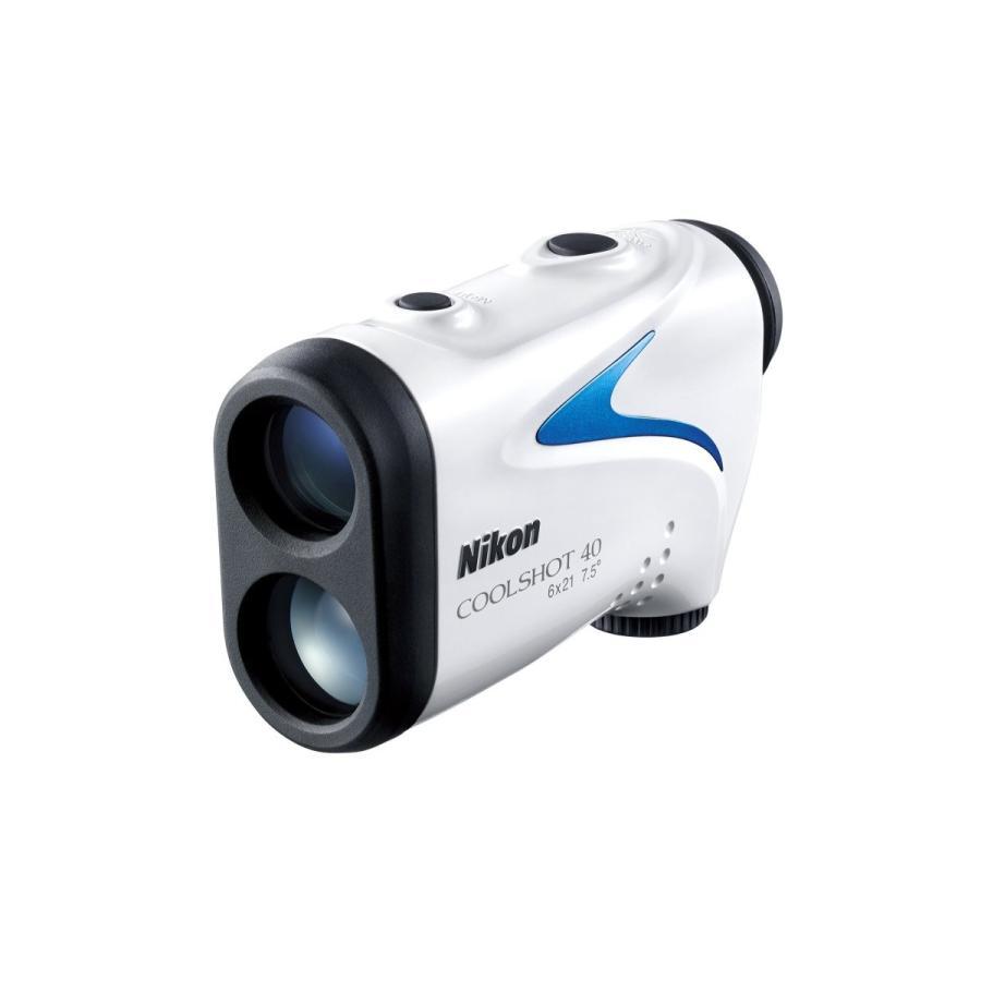 Nikon 携帯型レーザー距離計 COOLSHOT 40 LCS40 軽量 生活防水 ゴルフ プレー中邪魔にならない