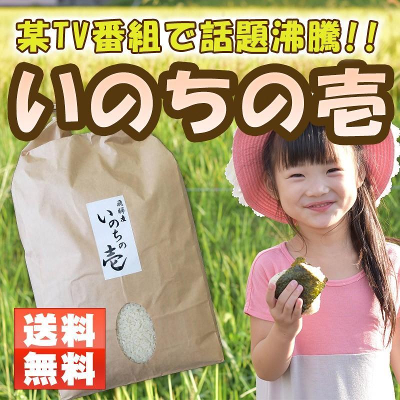 いのちの壱 5kg /認定特約店 お米ギフトに ohnoshokuryou-shop