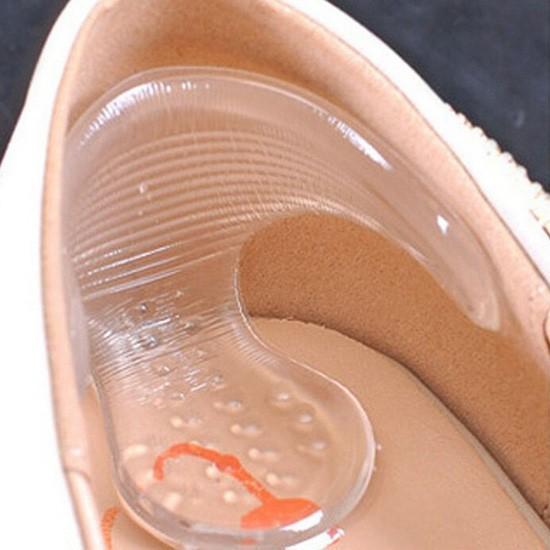 送料無料 メール便 かかとパッド クリア フリーサイズ 1足入り クッション 靴擦れ防止 靴ずれ 靴擦れ 靴ズレ T字型 滑り止め クッション 靴 サイズ調整 ohplus 02