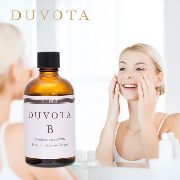 初回限定 毛穴 ふきとり 化粧水 DUVOTA ドゥボータ Bローション 洗顔 クレンジング 導入ブースト 角質ケア 敏感肌 おすすめ|ohsdie|02