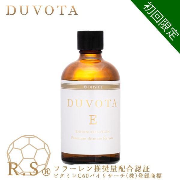 初回限定 フラーレン ビタミンC誘導体 化粧水 DUVOTA(ドゥボータ) Eローション ビタミンE誘導体 ナールスゲン オールイワン にきび 毛穴対策 イオン導入|ohsdie