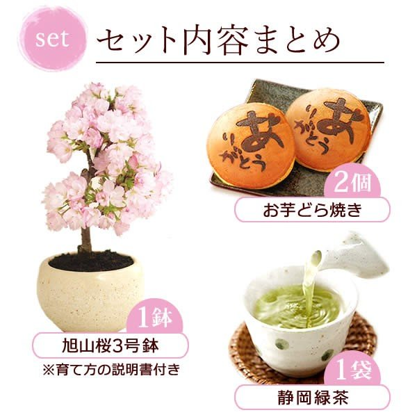 母の日 2021 プレゼント ギフト 花 スイーツ 母の日 花とスイーツ ギフトランキング 盆栽 桜 鉢植え お菓子 和菓子|oimoya|12