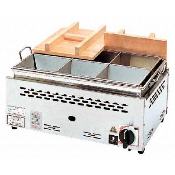 686-07 湯煎式おでん鍋(自動点火) ONG-1025 379003930