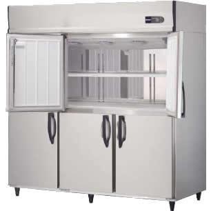 大和冷機工業 冷凍庫 683SS-NP 幅1800 奥行800 容量1668L センターノンピラー