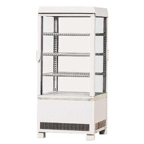 幅429 奥行445 サンデン 冷蔵ショーケース 卓上タイプ AG-70XE