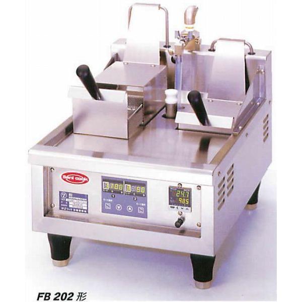 幅400 奥行570 日本洗浄機 サニクック 電気式 冷凍麺解凍調理機 FB202