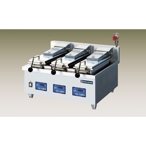 新品 幅300 奥行700 ニチワ電機 電気自動餃子焼器 卓上タイプ NGM-4-5AC