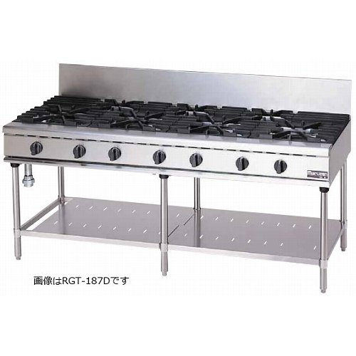 マルゼン NEWパワークックシリーズ ガステーブル RGT-187C