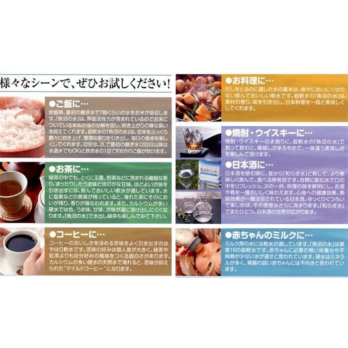 魚沼の天然水【ご飯の水】2L×6本入 国産ミネラルウォーター oishii-mizu 04