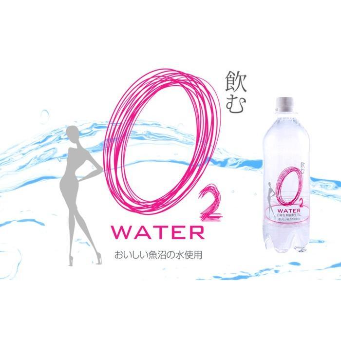 飲むo2water 500ml×24本 国産ミネラルウォーター
