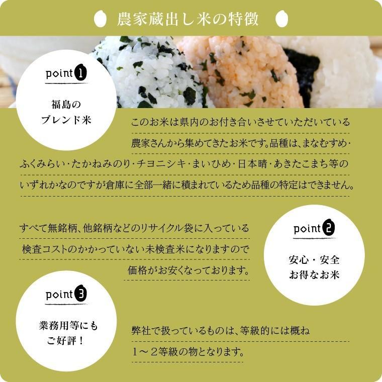 米 お米 新米入り 玄米 ブレンド米 訳あり 無洗米 農家蔵出し米 5kg 送料無料 大粒|oisiiokomedesu|04