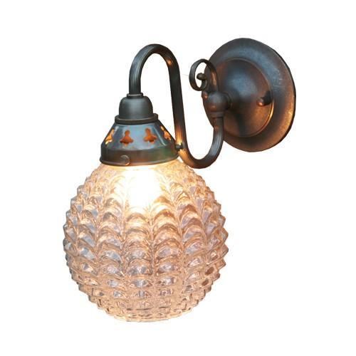 照明器具 サンヨウ アンティーク調 屋内 リビング リビング 廊下 シェード ランプ 真鍮 灯具 ウォールランプ FC-W122A 324 送料無料