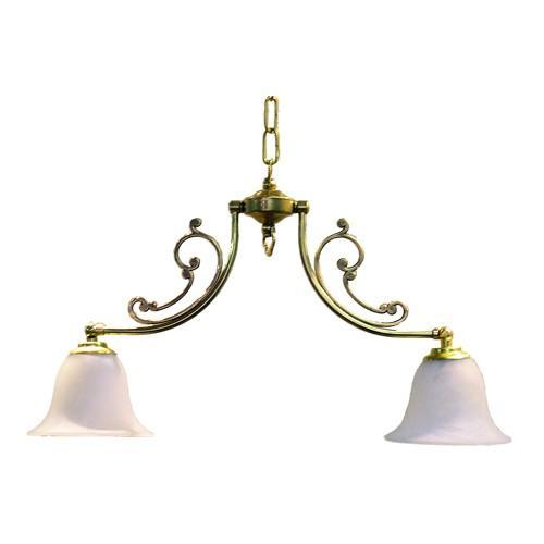 照明器具 照明器具 サンヨウ アンティーク調 屋内 リビング 廊下 シェード ランプ 真鍮 灯具 シャンデリア CP20G 416 送料無料