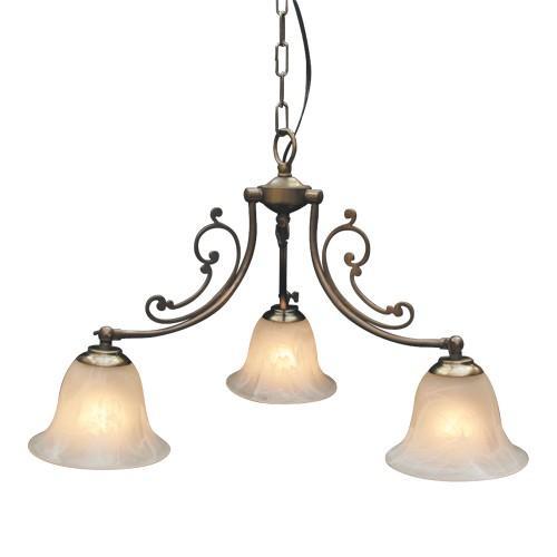 照明器具 サンヨウ アンティーク調 屋内 リビング 廊下 シェード ランプ 真鍮 灯具 シャンデリア CP40AB 416 送料無料