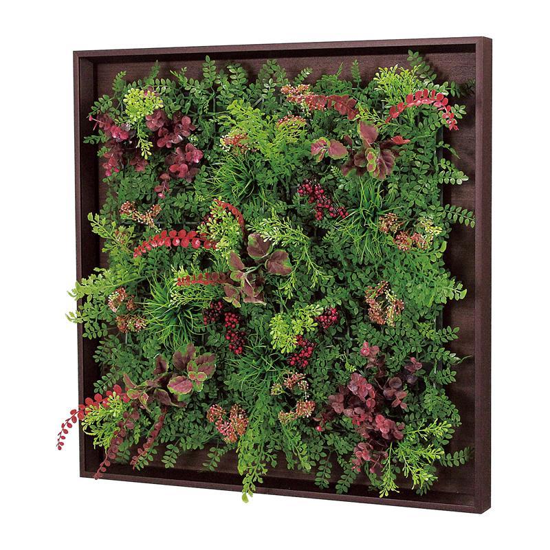 ベルク インテリアパネル グリーンパネル 連接グリーン GR1007 60角 室内 壁 インテリア おしゃれ 送料無料 緑 植物