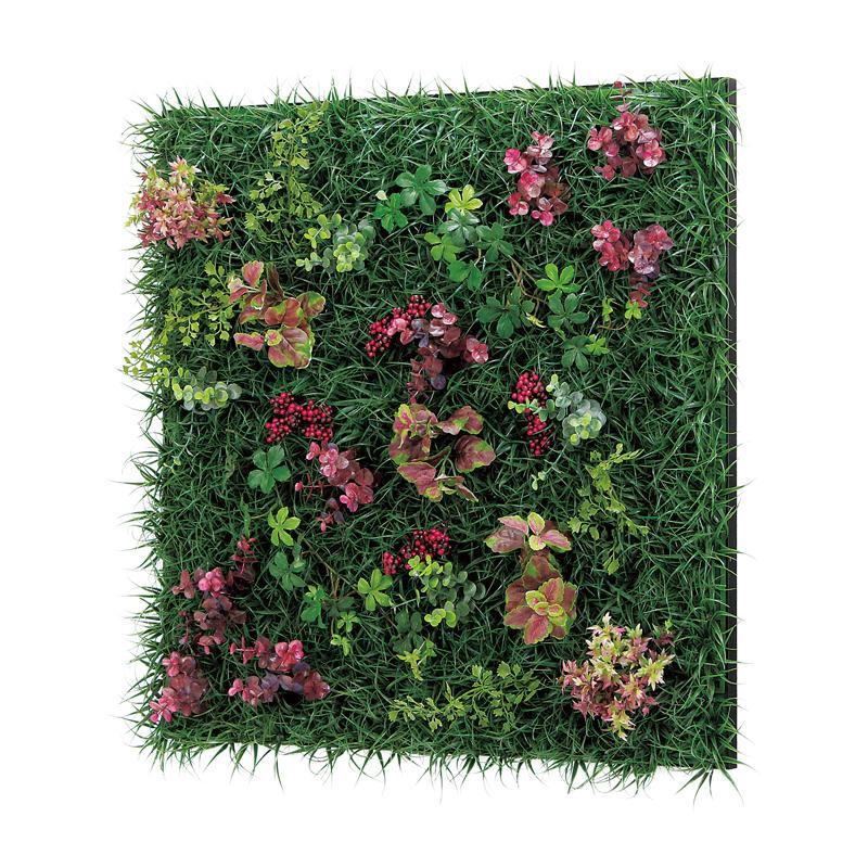 ベルク インテリアパネル グリーンパネル 連接グリーン GR1023 60角 室内 壁 インテリア おしゃれ 送料無料 緑 植物