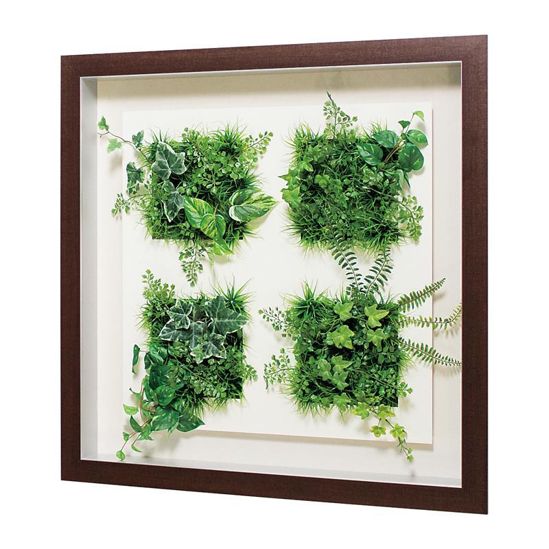 ベルク インテリアパネル インテリアデコ グリーン GR3552 室内 壁 インテリア おしゃれ 送料無料 緑 植物