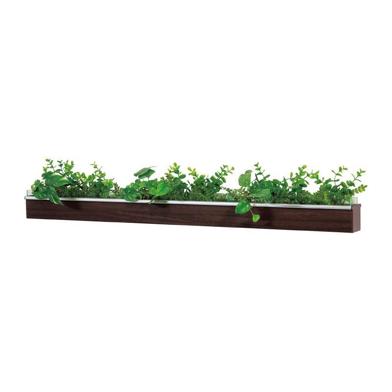ベルク インテリアパネル グリーンポット デザインポット カップ付き GR4039 室内 壁 インテリア おしゃれ 送料無料 緑 植物 緑 植物