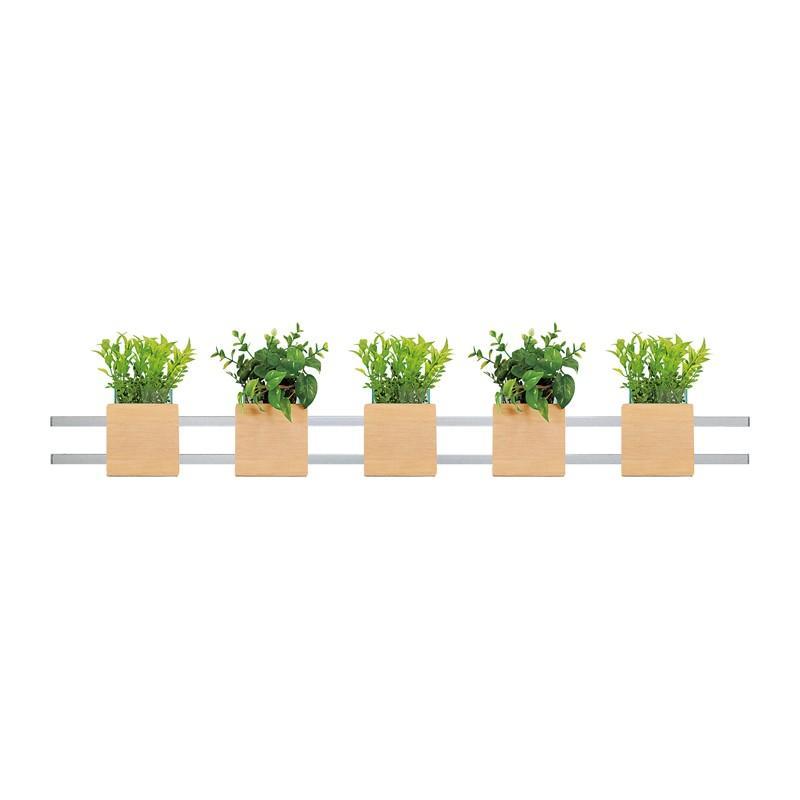 ベルク インテリアパネル グリーンポット 連接ポット GM4701 室内 壁 インテリア おしゃれ 送料無料 緑 植物 緑 植物