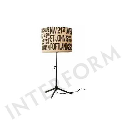 要在庫確認/照明器具 屋内照明 テーブルランプ Bus Roll Table Lamp(バスロールテーブルランプ) LT-1635 IV IV