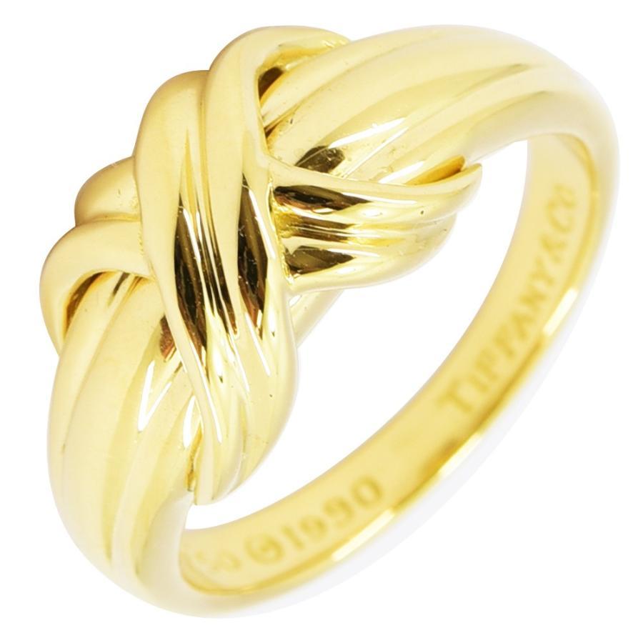 最高級のスーパー ティファニー リング シグネチャー シグネチャー TIFFANY&Co. 指輪 K18 指輪 750 約13号 新品仕上げ 新品仕上げ, 根室市:44055689 --- airmodconsu.dominiotemporario.com