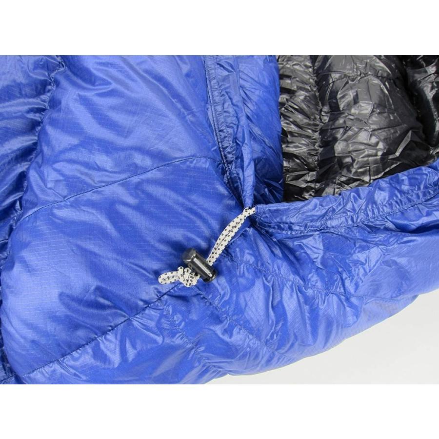イスカ(ISUKA) 寝袋 エア 500SL ロイヤルブルー最低使用温度-6度