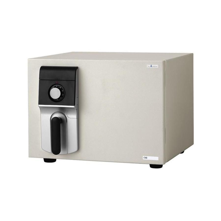 送料無料家庭用ダイヤル式 小型耐火金庫 MEISTER MEISTER マイスター 19.5L OSS-D代引き・同梱不可