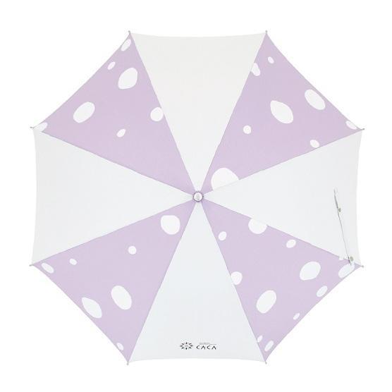 日傘 子供用 遮光率99% 遮熱 涼しい UVカット 晴雨兼用傘 撥水効果 水玉柄 55cm ジャンプ傘 送料無料 無料包装 無料誕生日メッセージカード付 okamoto-kasa 02