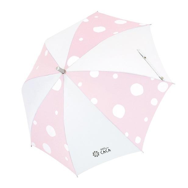 日傘 子供用 遮光率99% 遮熱 涼しい UVカット 晴雨兼用傘 撥水効果 水玉柄 55cm ジャンプ傘 送料無料 無料包装 無料誕生日メッセージカード付 okamoto-kasa 13