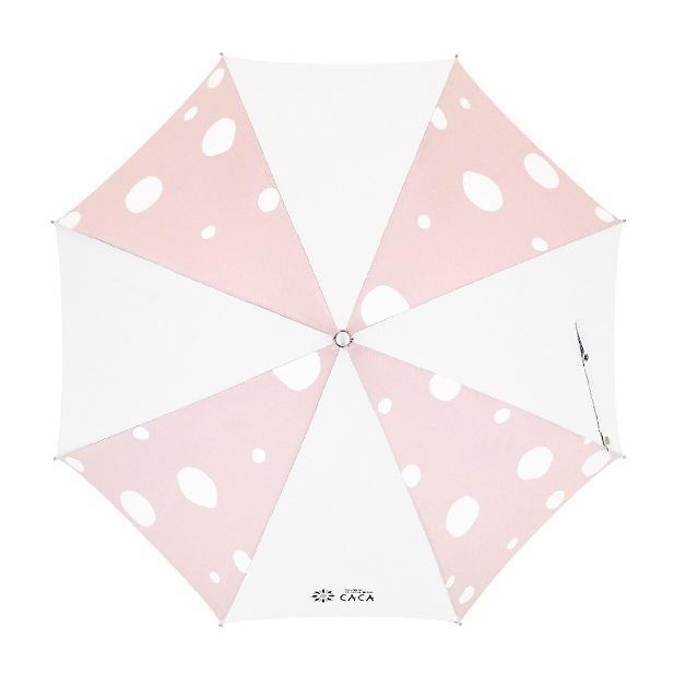 日傘 子供用 遮光率99% 遮熱 涼しい UVカット 晴雨兼用傘 撥水効果 水玉柄 55cm ジャンプ傘 送料無料 無料包装 無料誕生日メッセージカード付 okamoto-kasa 14