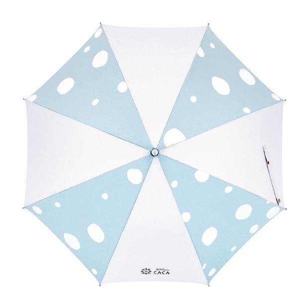 日傘 子供用 遮光率99% 遮熱 涼しい UVカット 晴雨兼用傘 撥水効果 水玉柄 55cm ジャンプ傘 送料無料 無料包装 無料誕生日メッセージカード付 okamoto-kasa 09