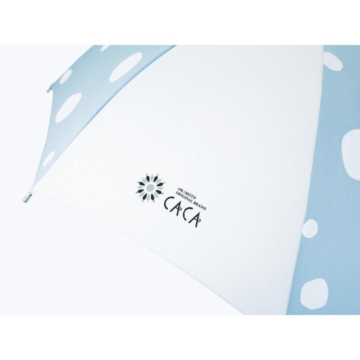 日傘 子供用 遮光率99% 遮熱 涼しい UVカット 晴雨兼用傘 撥水効果 水玉柄 55cm ジャンプ傘 送料無料 無料包装 無料誕生日メッセージカード付 okamoto-kasa 10