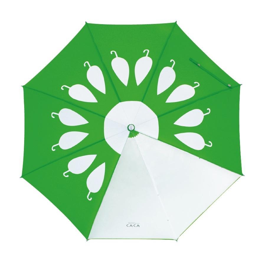 傘 子供用 花柄 周囲が見やすく安全性の高いビニール2駒窓付き 55cm ジャンプ傘 グラスファイバー骨 強い 丈夫 送料無料 無料包装 無料誕生日メッセージカード付|okamoto-kasa|02