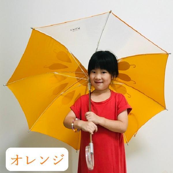 傘 子供用 花柄 周囲が見やすく安全性の高いビニール2駒窓付き 55cm ジャンプ傘 グラスファイバー骨 強い 丈夫 送料無料 無料包装 無料誕生日メッセージカード付|okamoto-kasa|14