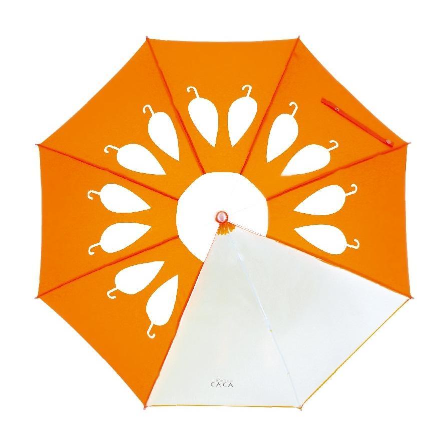傘 子供用 花柄 周囲が見やすく安全性の高いビニール2駒窓付き 55cm ジャンプ傘 グラスファイバー骨 強い 丈夫 送料無料 無料包装 無料誕生日メッセージカード付|okamoto-kasa|15