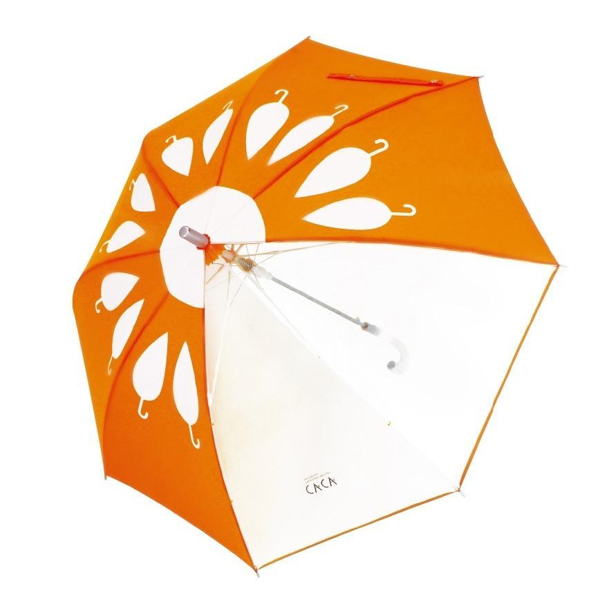 傘 子供用 花柄 周囲が見やすく安全性の高いビニール2駒窓付き 55cm ジャンプ傘 グラスファイバー骨 強い 丈夫 送料無料 無料包装 無料誕生日メッセージカード付|okamoto-kasa|16