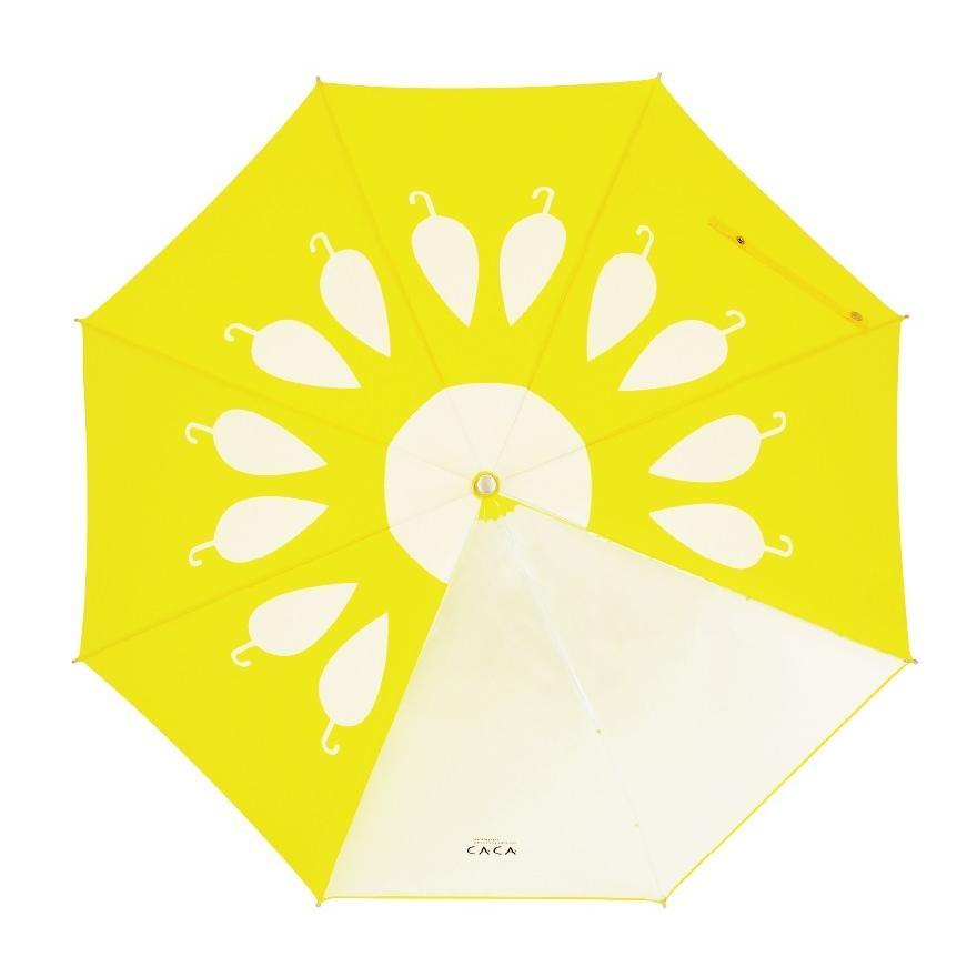 傘 子供用 花柄 周囲が見やすく安全性の高いビニール2駒窓付き 55cm ジャンプ傘 グラスファイバー骨 強い 丈夫 送料無料 無料包装 無料誕生日メッセージカード付|okamoto-kasa|09
