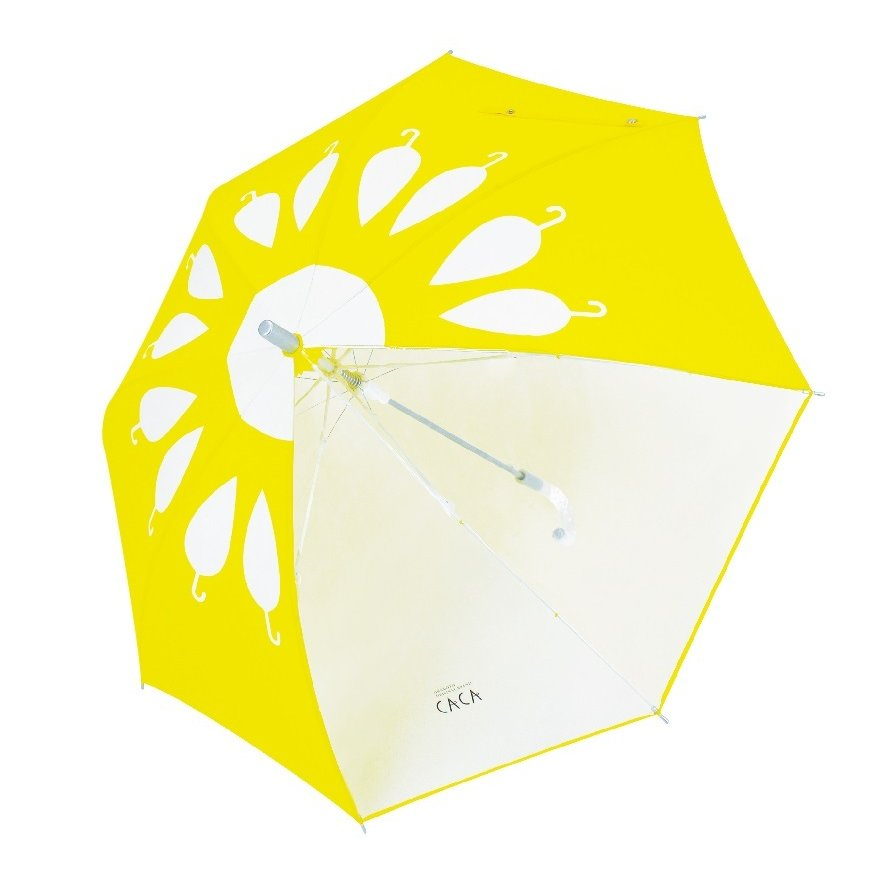 傘 子供用 花柄 周囲が見やすく安全性の高いビニール2駒窓付き 55cm ジャンプ傘 グラスファイバー骨 強い 丈夫 送料無料 無料包装 無料誕生日メッセージカード付|okamoto-kasa|10