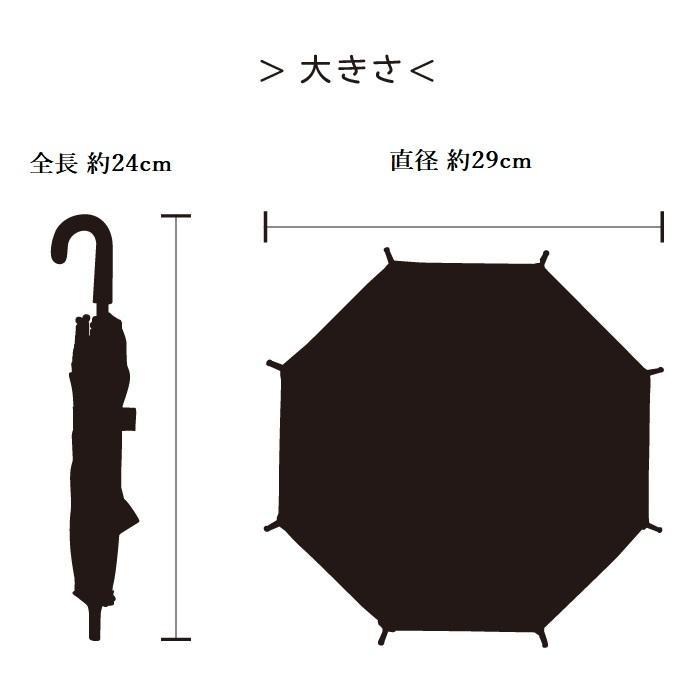 ビニール傘 ミニチュア傘 送料無料 オリジナル作品作成可能 無地透明 5本セット|okamoto-kasa|05