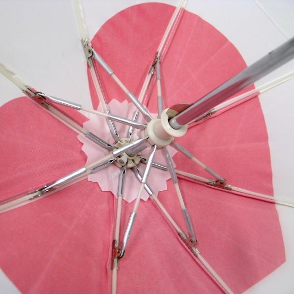 傘 かわいい ハート柄 ミニチュアタイプ ハロウィン 結婚式 イベント用 ごっこ遊び用 お人形用 ディスプレイ用 アクセサリー用 送料無料 5本セット okamoto-kasa 05