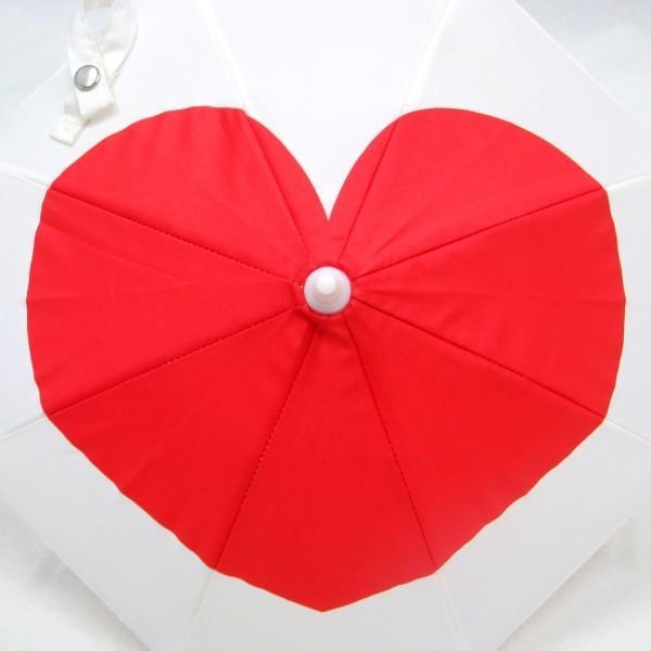 傘 かわいい ハート柄 ミニチュアタイプ ハロウィン 結婚式 イベント用 ごっこ遊び用 お人形用 ディスプレイ用 アクセサリー用 送料無料 5本セット okamoto-kasa 06