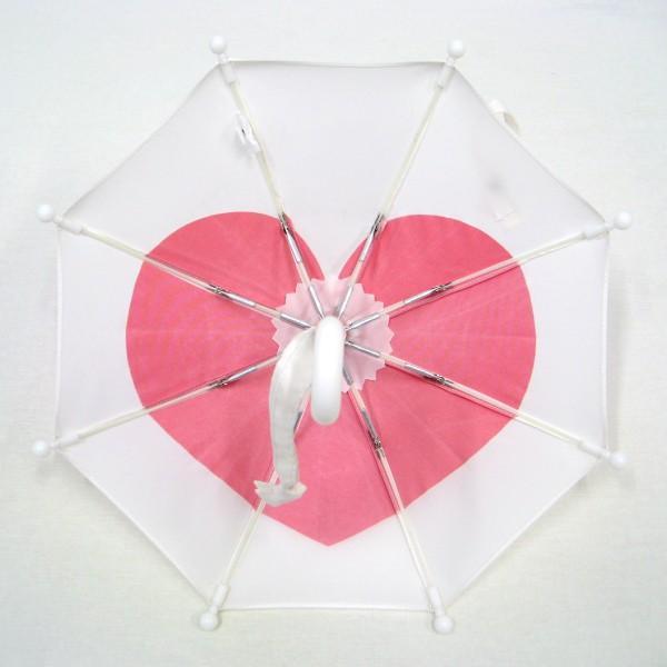 傘 かわいい ハート柄 ミニチュアタイプ ハロウィン 結婚式 イベント用 ごっこ遊び用 お人形用 ディスプレイ用 アクセサリー用 送料無料|okamoto-kasa|07