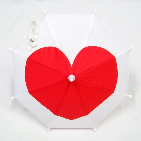 傘 かわいい ハート柄 ミニチュアタイプ ハロウィン 結婚式 イベント用 ごっこ遊び用 お人形用 ディスプレイ用 アクセサリー用 送料無料|okamoto-kasa|08
