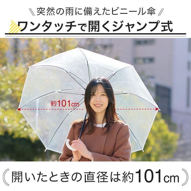 ビニール傘 48本セット 丈夫 60cm ジャンプ傘 白黒2色展開 反り返っても折れにくく風に強いグラスファイバー耐風骨使用 送料無料 okamoto-kasa 02