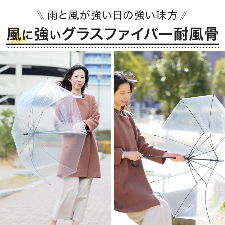 ビニール傘 48本セット 丈夫 60cm ジャンプ傘 白黒2色展開 反り返っても折れにくく風に強いグラスファイバー耐風骨使用 送料無料 okamoto-kasa 04