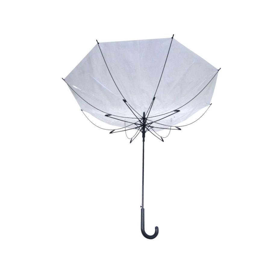 ビニール傘 ジャンプ 70cm 大きい傘 1本税込1,100円 送料無料  6本セット 反り返っても折れにくく風に強い耐風骨使用 高品質ビッグサイズで荷物も濡れにくい|okamoto-kasa|03
