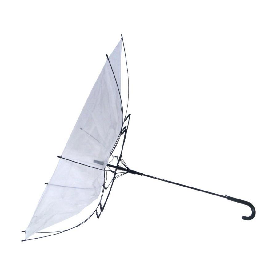 ビニール傘 ジャンプ 70cm 大きい傘 1本税込638円 送料無料  18本セット 反り返っても折れにくく風に強い耐風骨使用 高品質大きい傘で荷物も濡れにくい|okamoto-kasa|02